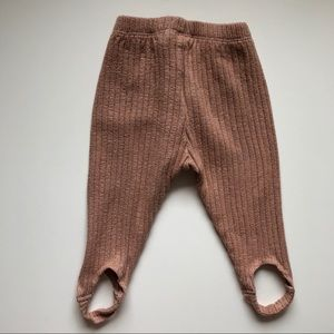 81f839669fae6 Zara Bottoms | Baby Girl Ribbed Legging Pants | Poshmark